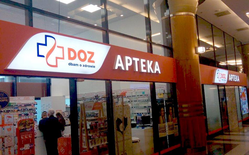 Profuturo Producent Reklam Apteka DOZ branding